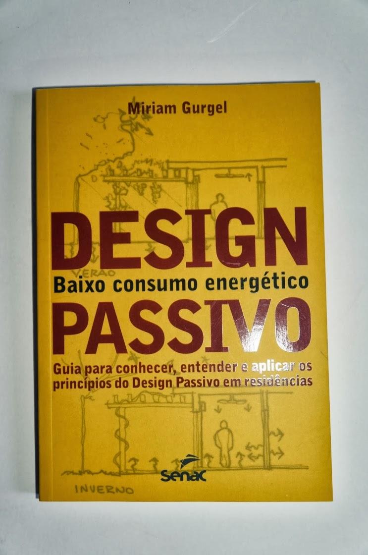 capa livro Design Passivo - Miriam Gurgel