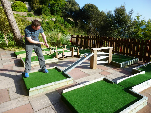 Mini Golf at The Imperial Hotel in Torquay, Devon