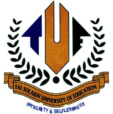 Tai Solarin University Final 2016/2017 2nd Semester Exam Time-table