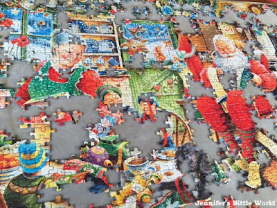Santa's Final Preparations limited edition Christmas jigsaw from Ravensburger
