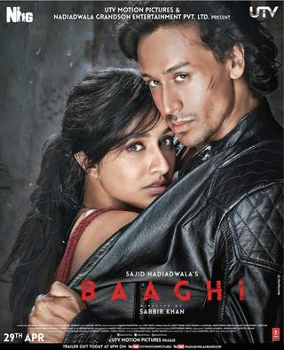 Baaghi 2016 Full Hindi Movie Download 350MB BluRay 480p Watch Online 9xmovies Filmywap Worldfree4u