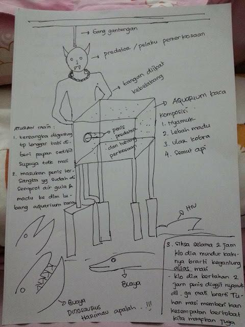 HEBOH !! Inilah Sketsa yang Di Buat Ibu-ibu, bagaimana Hukuman yang Cocok Untuk Tersangka Pelecehan Seksual