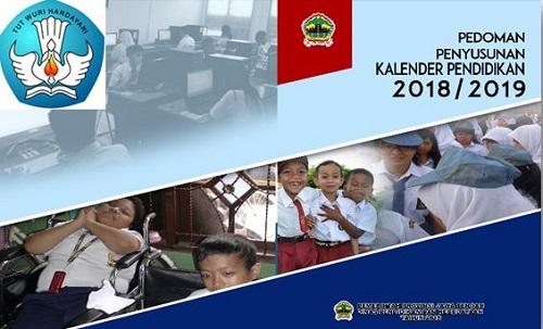 Pedoman Penyusunan Kaldik ( Kalender Pendidikan ) Tahun Pelajaran 2018/2019