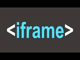 Cara Membuat script iframe dalam Post Blog