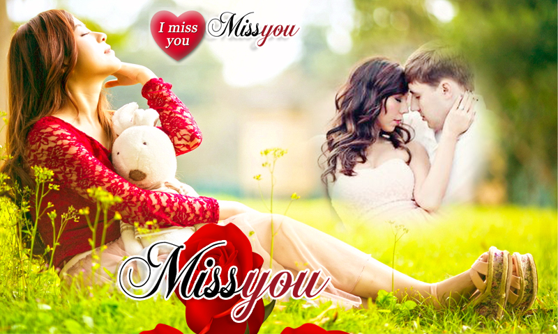 beautiful miss you photo frame app screenshots free download link here