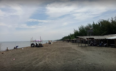 Keindahan Wisata Pantai Randusanga Indah Brebes