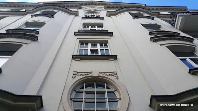 Warszawa Warsaw architektura Powiśle kamienica Czerwiński okres międzywojenny Domostwo