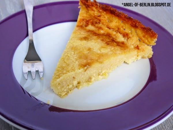 Veganer glutenfreier Zitronen Cheesecake
