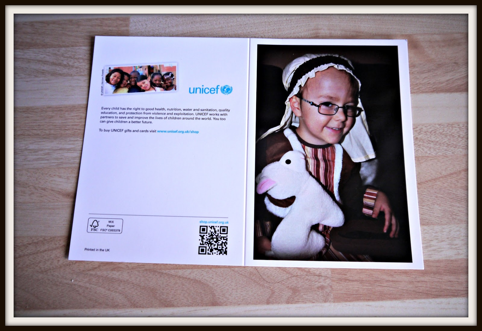Inside the Wendy House: UNICEF Christmas Cards
