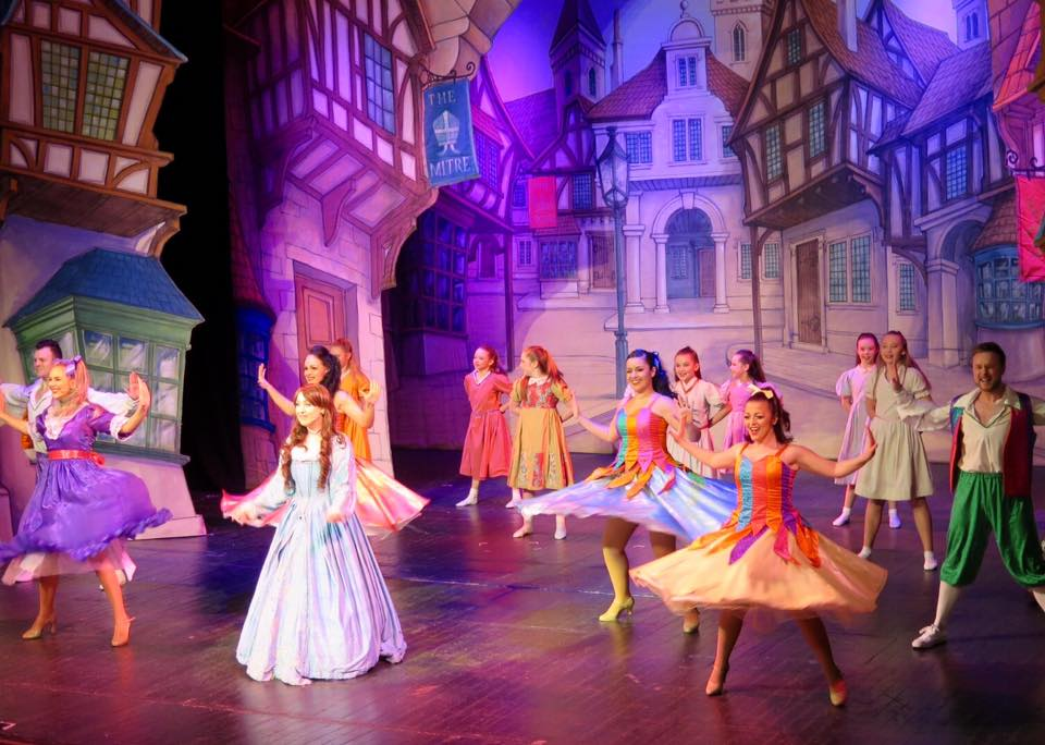 Beauty and the Beast at Tyne Theatre and Opera House Newcastle | A Review - dancers