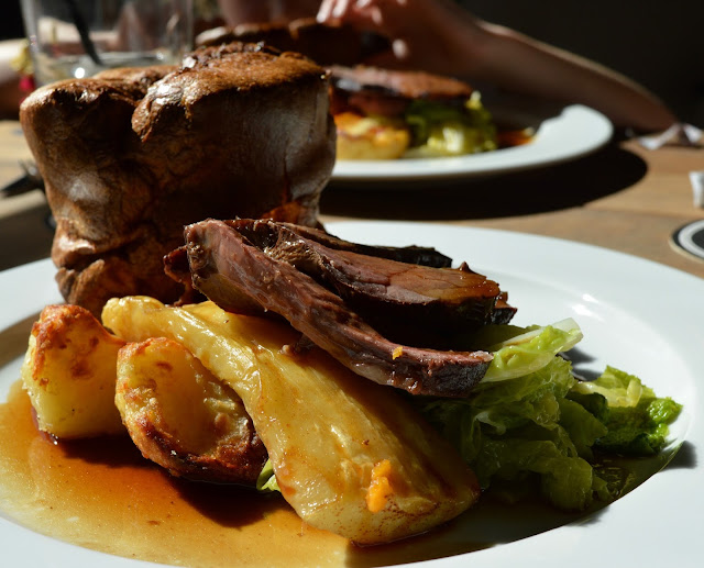 Exhibition Park Newcastle | Wylam Brewery Sunday Lunch | Beef roast dinner