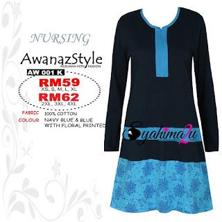 T-Shirt-Muslimah-Awanazstyle-AW001K