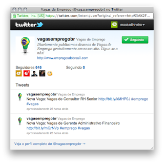 How to Add the Twitter Follow button on a WordPress blog