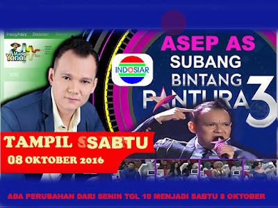 Ada jadwal perubahan info dari kang Asep AS Subang....