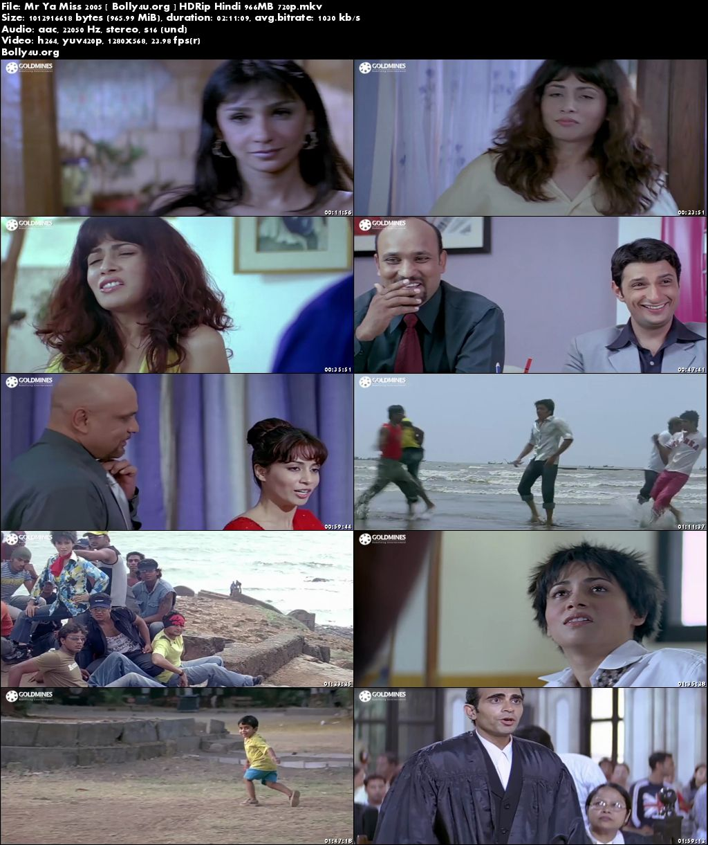Mr Ya Miss 2005 HDRip 350MB Hindi Movie 480p Download