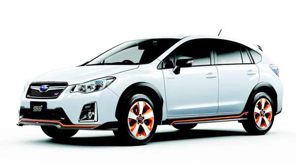 The Subaru XV Crosstrek Hybrid is available only in Japan