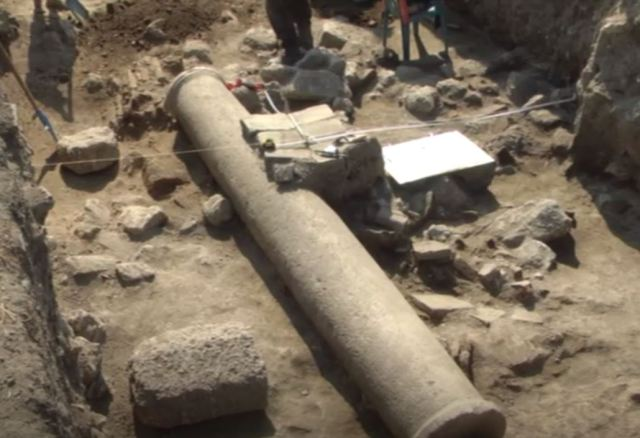 Statue head of Roman emperor unearthed in northern Bulgaria