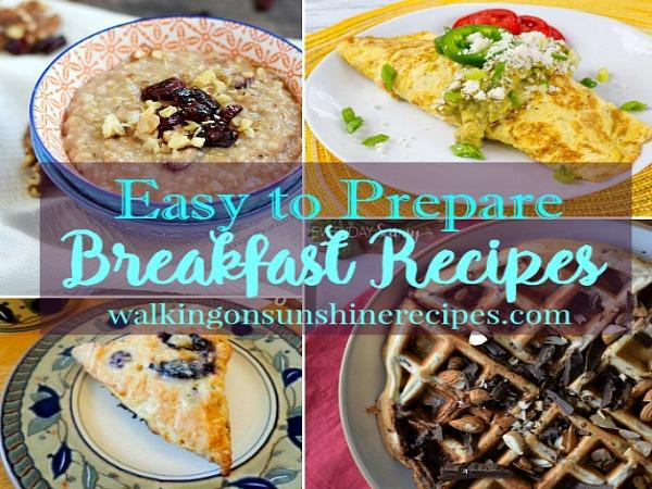 Easy Breakfast Recipe Ideas