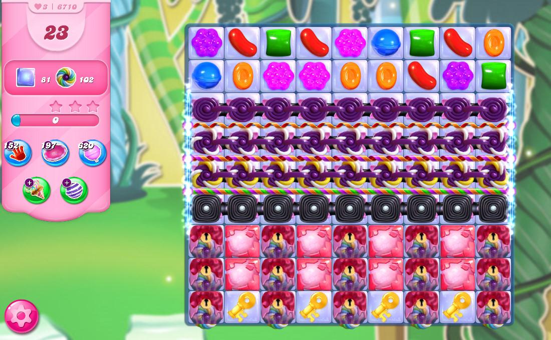 Candy Crush Saga level 6701
