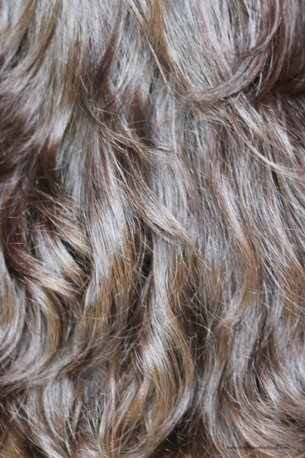 Before - BBlunt Hair Color Chocolate Dark Brown