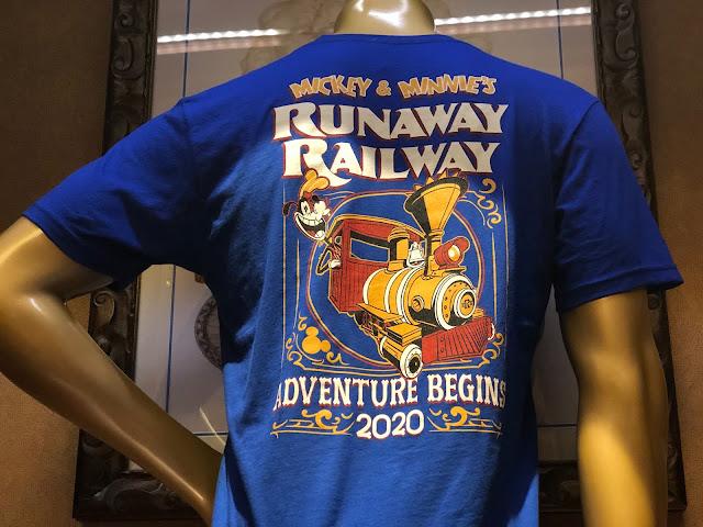 Mickey & Minnie's Runaway Railway Merchandise Adventure Begins