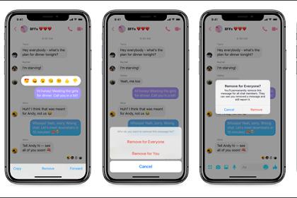 Cara Menghapus Pesan di Facebook Messenger Sekaligus