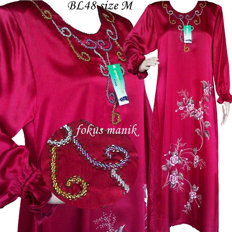 Jubah Modern: Sold Jubah Batik Lukis