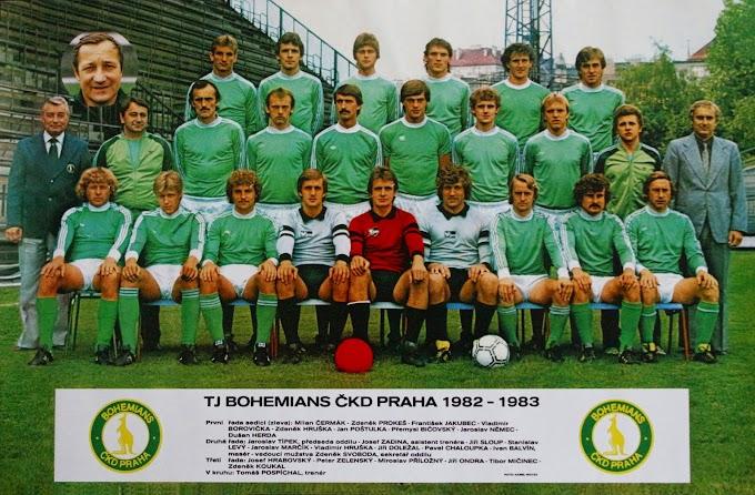 BOHEMIANS PRAHA 1982-83.