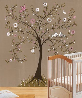 Kitchen Wall Tree Murals