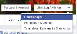 membuat akun facebook tidak bisa di add