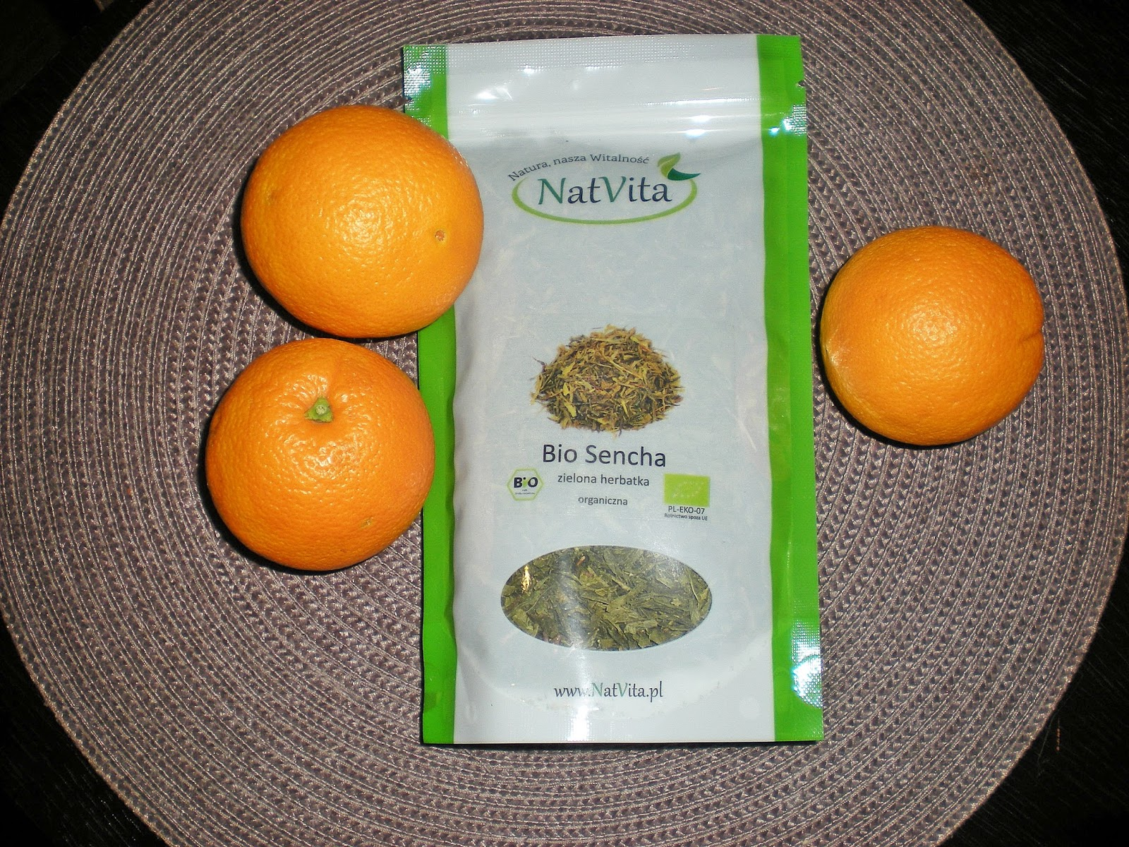 Zielona herbata Bio Sencha_NatVita_biogo.pl