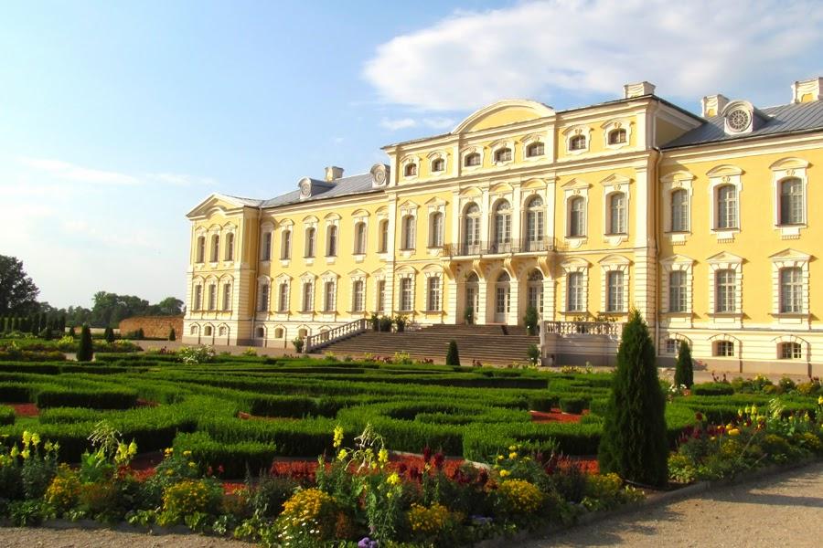 Latvian Pearl. Rundale Palace