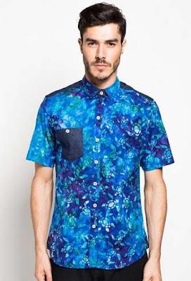 Baju Batik Anak Muda Pria