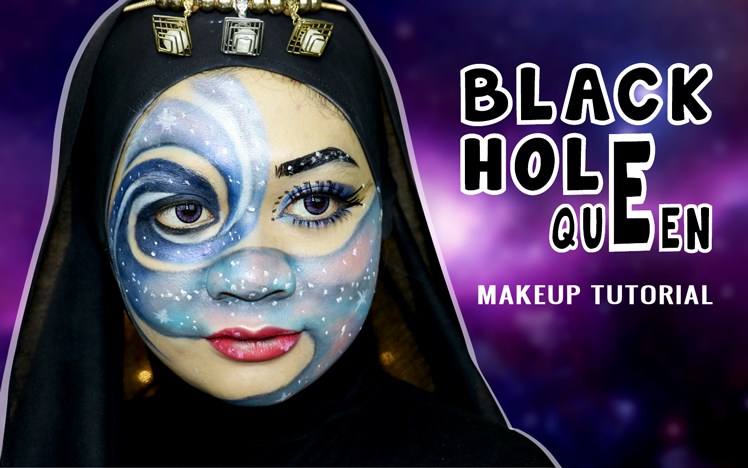 Black Hole Makeup Tutorial
