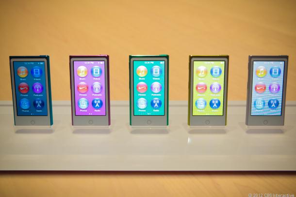 iPod Touch vs. iPod Nano: Apple's 2012 iPods compared ...