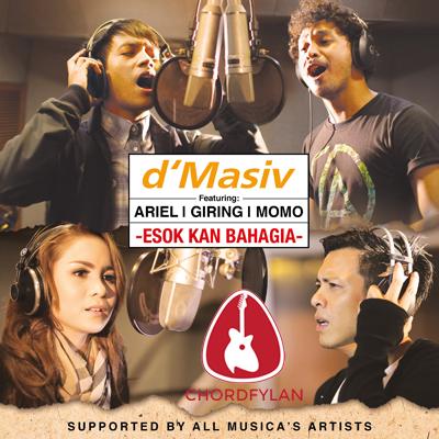 Lirik dan chord Esok Kan Bahagia - D'Masiv ft. Ariel, Giring, Momo