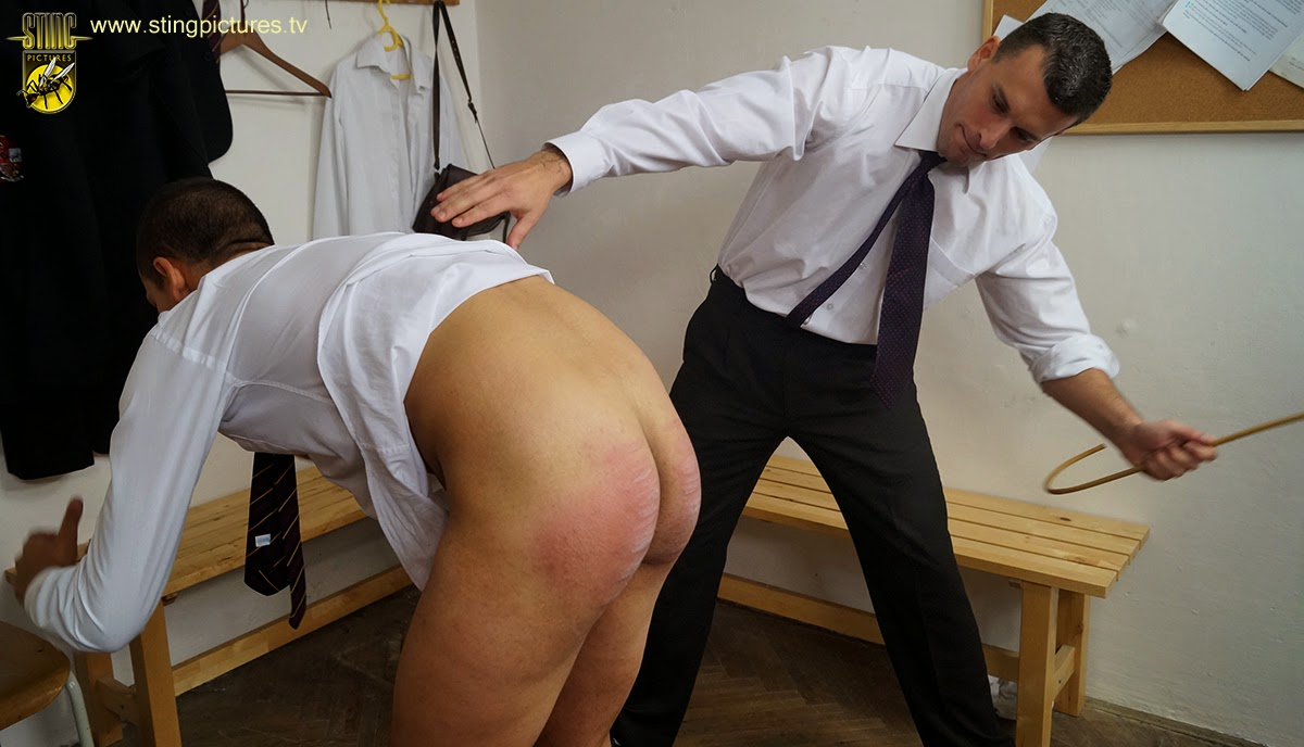 Bottom boy caning