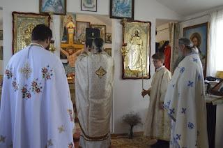 """Taierea Capului Sfantului Ioan Botezatorul, Manastirea """"Buna Vestire"""" Cardon, Tulcea"""
