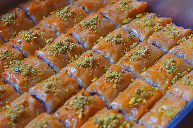 Almond and Pistachio Baklava