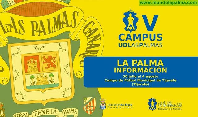 Abierto el plazo de inscripción para el I Campus de Verano UD Las Palmas en Tijarafe