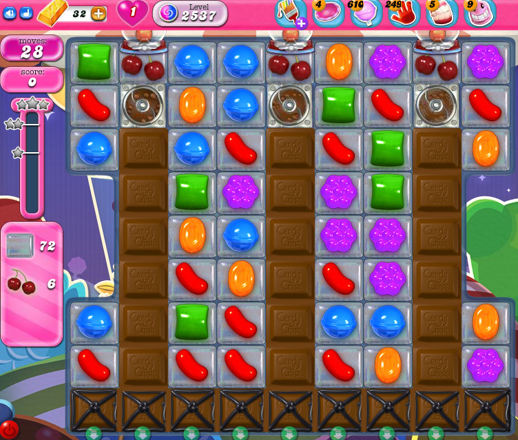 Candy Crush Saga level 2537