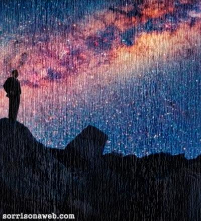 Poeira cósmica - Sorriso na Web