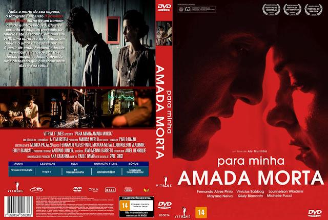 Capa DVD Para Minha Amada Morta