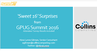 Hey Collins, can I get a link to your Summit 2016 webcast?