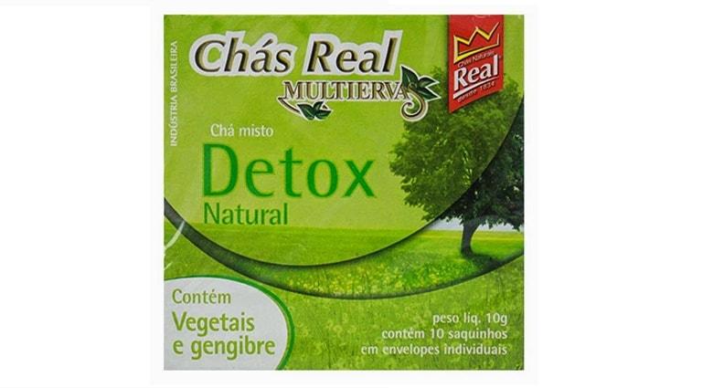 chá detox Real Multiervas emagrece