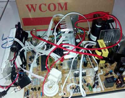 Cara Memasang Mesin TV Slim China Pada CRT LG