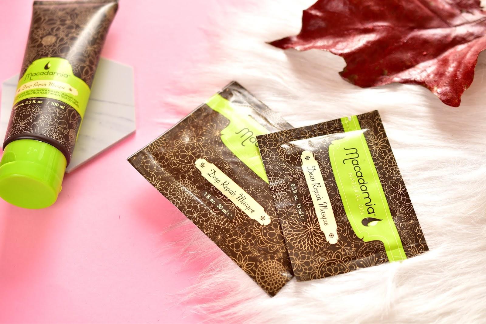 Macadamia natural Oil maska na vlasy