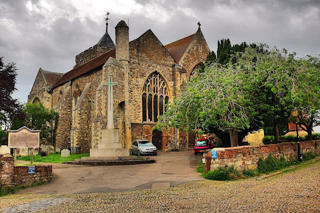 Saint Mary's Church, Rye, Sussex, England, Great Britain