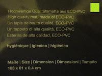"""Material: Yogamatte """"Ravana"""" Die ideale Yoga- und Gymnastikmatte für Yoga-Einsteiger. Maße: 183 x 61 x 0,4cm / Indian türkis"""