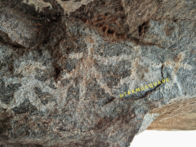 Pre-historic Cave Paintings, Krishnagiri
